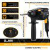GJ181 220V 26mm 4 Functions AC Electric Rotary Hammer with BMC and 5pcs Accessories Electric Drill