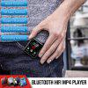Bluetooth Touch Screen Clip MP3 Player Supports FM Video Stopwatch for Kids