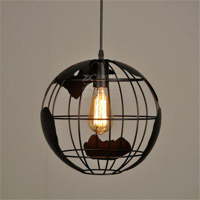 Creative Globe Pendant Light E27 Pendant Light Vintage Industrial Wind Art Pendant light