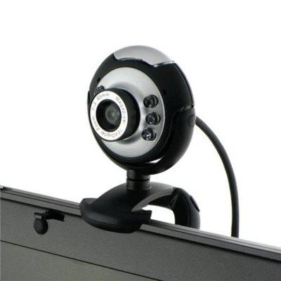 USB Webcam Web Camera Buit-in Mic Clip Cam for PC Desktop Laptop Notebook Computer