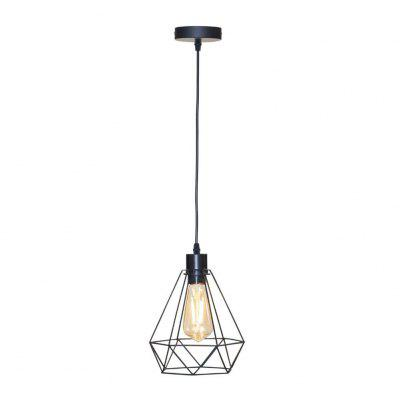 E27 Base Retro Industrial Pendant Light Lamp For Coffee Shop Clothing Shop Restaurant