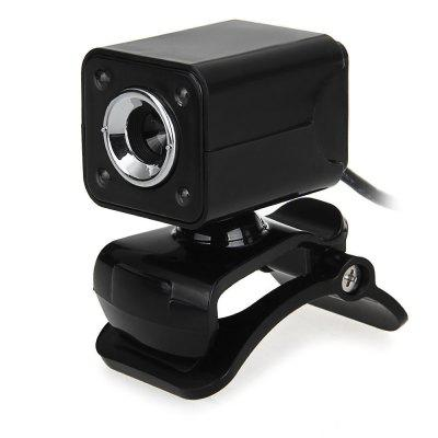 1080P 800W 4 LED HD Webcam Camera USB 2. 0 Microphone for Computer PC Laptop