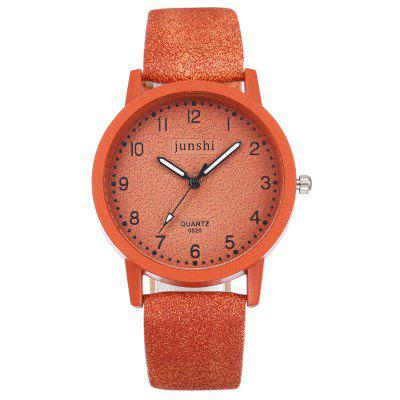 Best Women Watches Fashion Ladies Quartz Wristwatch Exquisite Leather Strap Clock