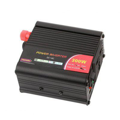 300W Output Dual Converter Vehicle Car Inteverter Portable Adapter Charger Power Inverter