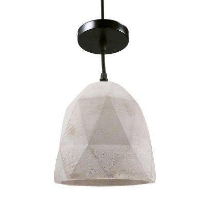Retro Industrial Style Concrete Pendant Light Hanging Lamp For Restaurant Living Room Kitchen