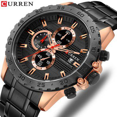 Stylish Elegant Quartz Watches Mens Sports Nice Looking Chronograph Watches