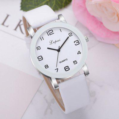 Casual High Quality Women Ladies Watch Leather Band Cheap Wrist Watches
