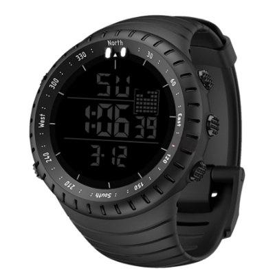 Men WatchesTactical Military Watch Male Watch Fashion Wristwatch Silicone Strap LED Clock Electronic