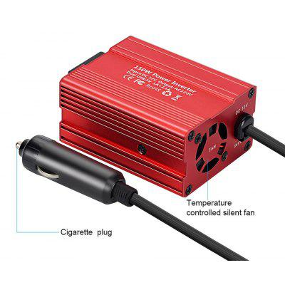 150W Power Peak 300W DC12V To 220V USB Modified Sine Wave Inverter Converter Solar Power Supply