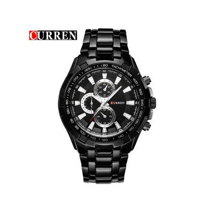 Men Quartz Analog Military Watches Sports Waterproof Watches