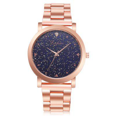 Women Dress Watches Stainless Steel Fashion Ladies Wristwatch Creative Quartz Cheap