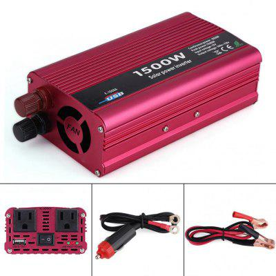 1500W DC 12V to AC 110V Best Power Inverter for Car Converter USB Charger Adapter Auto Accessorie