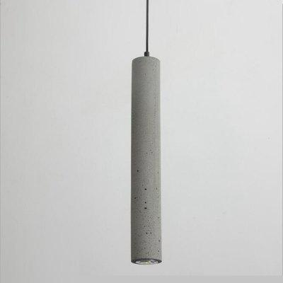 Modern Pendant Lights Industrial Concrete Pendant Light Cylinder Pipe Kitchen Lights