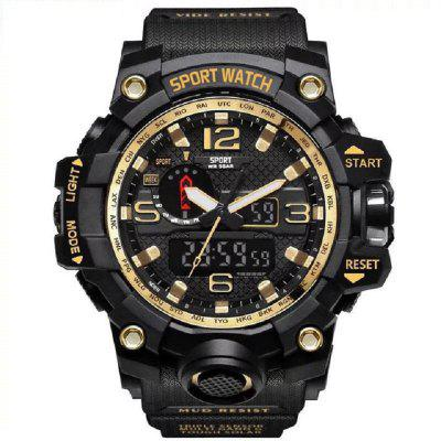 Men Military Army Mens Watch Led Digital Sports Wristwatch Male Gift Analog