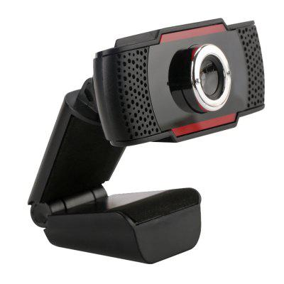 USB Webcam HD 300 Megapixel PC Camera with Absorption MIC for Android TV Rotatable Computer