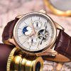 Classic Mens Retro Watches Automatic Mechanical Watch
