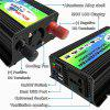 Solar Inverter 3000W Peak Voltage Transformer Converter DC 12 Volt To AC 220V Car Battery Inverter