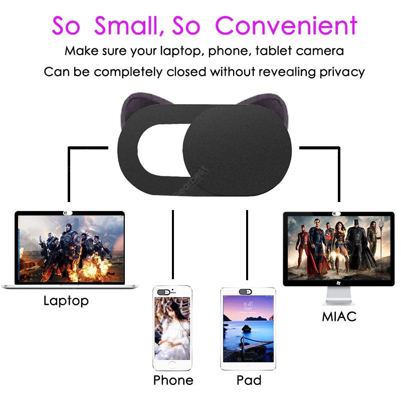 Webcam Cover Universal Phone Laptop Camera Cover Cache Slider Magnet Web Cam Cover for iPad Mac