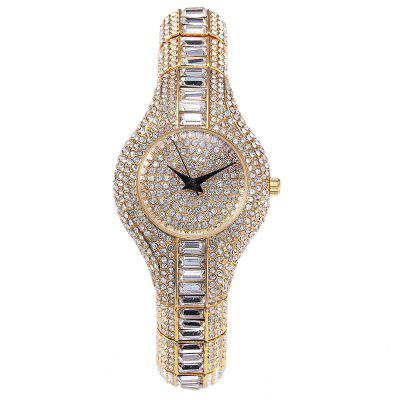 Cheap Womens Watch Shockproof Waterproof Luxury Ladies Metal Bracelet