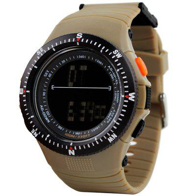 Men Countdown Digital Watch Male Watch Casual Quartz Clock LED Digital Tactical Watch
