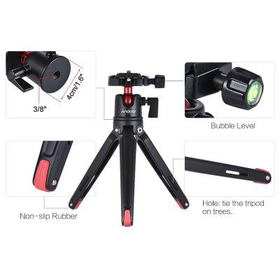 Mini Handheld Travel Tabletop Mobile Tripod Stand with Ball Head