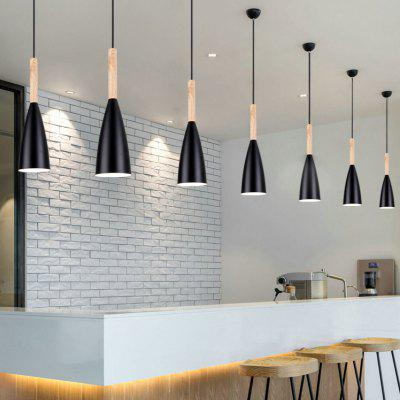 E27 Bar Pendant Lights Cafe Restaurant Decor LED Hanging Lamp Lighting