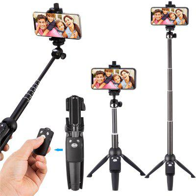 Selfie Stick Tripod for iPhone 40-Inch Wireless Remote and Tripod Stand Monopod