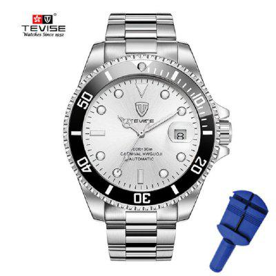 Men Mechanical Watch Automatic Fashion Luxury Stainless Steel Male Clock