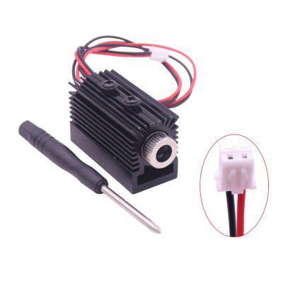 1500MW 405nm Blueviolet Light Laser Carving Head Module Engraver Accessory for CNC Carving