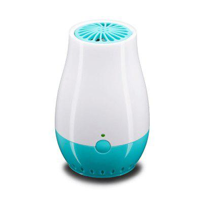 Chargeable USB Home Air Purifier Ozone Ionic Air Cleaner Remove Smoke Odor Bacteria Freshener
