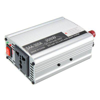 300W Power Inverter 12V to AC 220 Volt USB Modified Sine Wave LCD Digital Car Charge