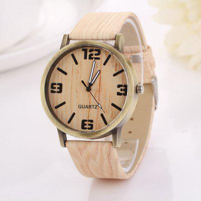 Wooden Relojes Quartz Men Women Watches