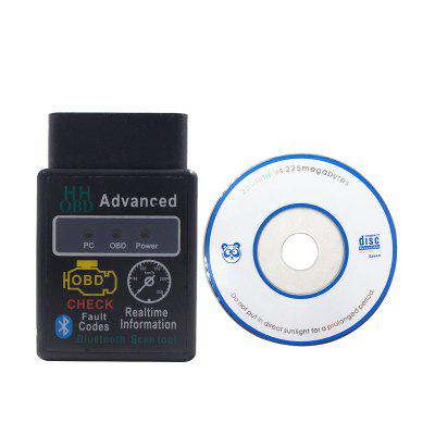 Super Mini OBD2 HHOBD V1.5 Advanced Code Reader ELM327 Car Scanner Tool for iOS Android PC