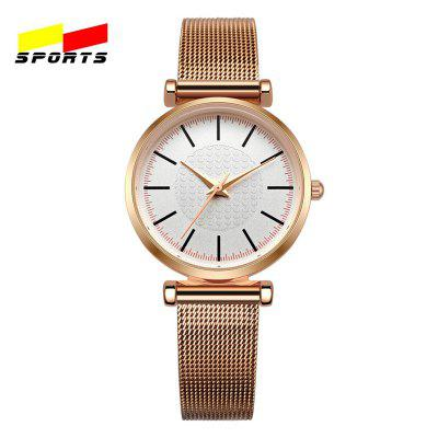 Sports Female Watches Luxury Quartz Leather Cheap Mechanical Sport Casual Watch
