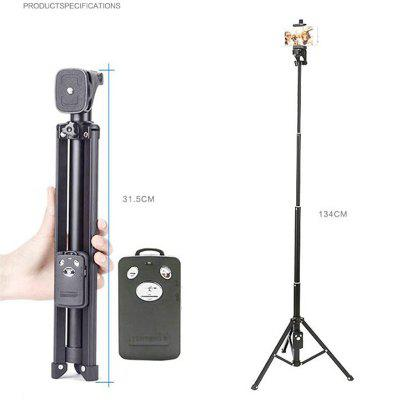 3 In 1 Bluetooth Remote Shutter Portable Handle Selfie Stick Mini Tripod for iPhone for Samsung