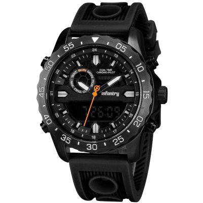 Military Watch Men Digital LED Wristwatch Mens Watches Tactical Sport Silicone Clock