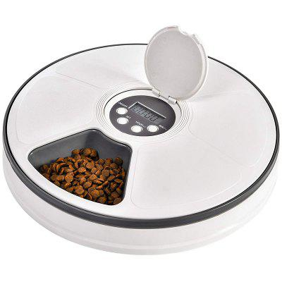 Automatic Pet Feeder Food Dispenser for Cats Animals Distribution Timed Programmed Timed Self 6 Meal