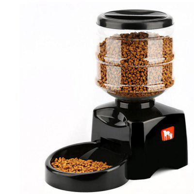 Pet Feeder with Voice Message Recording LCD Screen Large Smart Dogs Cats Food Bowl Dispenser