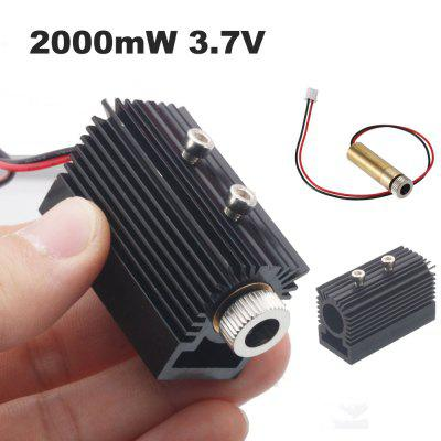 2000mW Laser Head Tube Module Accessory Laser Engraving Machine Replace Parts for NEJE DK-8-KZ