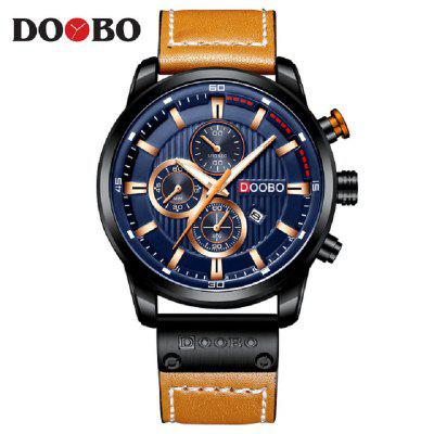 Fashion Men Analog Leather Sports Watches