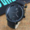 Simple Watches Men Luminous Pointer Fashion Cool Men Watch Leather Band Wristwatches Male Clock