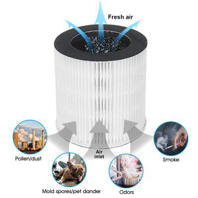 Desktop Air Purifier for Smoke Purifier Model A-DST01 A-DST02 To Reduce Mold Odor Smoke Allergies