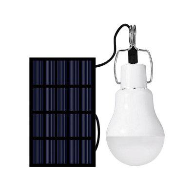 Outdoor 12 LED Solar Bulb Portable Solar Lamp Hanging Emergency Energy Saving Camping Tent Lights