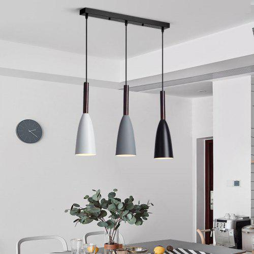 Gl Pendant Lights Over Dining Table