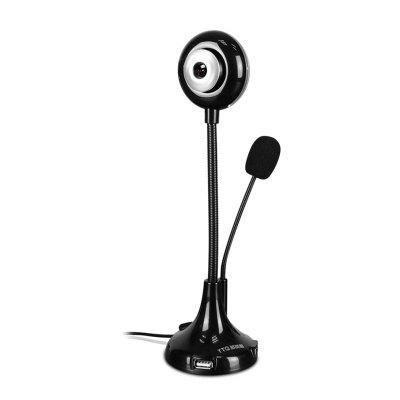 USB 2.0 Bendable Desktop Computer Laptop Webcam Adjustable Angle CMOS HD Lens Webcam Camera