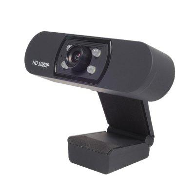 Webcam 1080P HDWeb Camera with Built-in HD Microphone USB Web Cam Widescreen Video