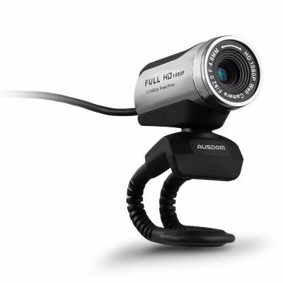 AW615 1080p USB 2.0 HD Webcam Computer Web Camera with Microphone for PC Laptop Free Driver Web Cam