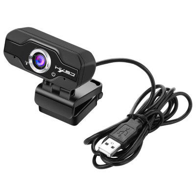 1080P USB 2.0 HD WebCam Web Camera Video with Built-in Stereo Microphone Clip-on PC Laptop