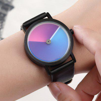 Unique Minimalist Creative Watch Geek Swirl New Fashion Luxury Wrist Watch Simple Quartz Watch