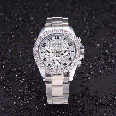 Fashion Stainless Steel Quartz Man Nice Gift Watches Diamond Dress Clocks Business Watch